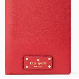 Kate Spade Imogene Grove Street Passport ID Holder
